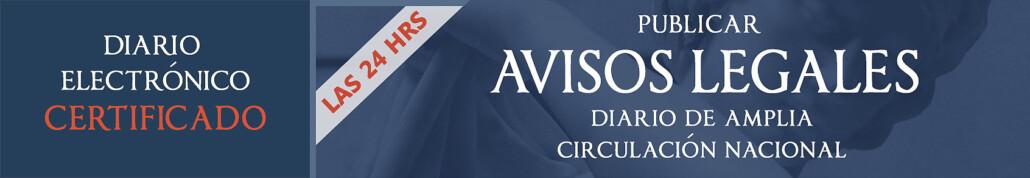 Banner Avisos Legales ExtraNoticias